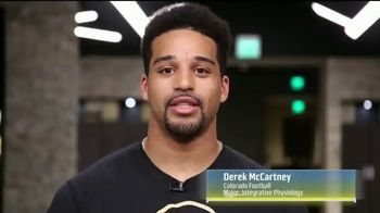 Pac-12 Conference TV Spot, 'PAC Profiles: Derek McCartney' - 58 commercial airings