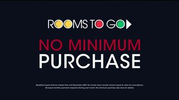 Rooms to Go Holiday Sale TV Spot, 'Interest Free Financing' - Thumbnail 4