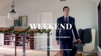 JoS. A. Bank Weekend Specials TV Spot, 'Signature Suit and Leather Jacket' - Thumbnail 8