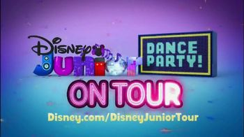Disney Junior Dance Party! TV Spot, 'Live Concert Experience' - Thumbnail 9