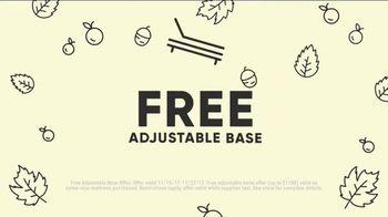 Mattress Firm Sleep-Giving Sale TV Spot, 'Adjustable Base' - Thumbnail 4