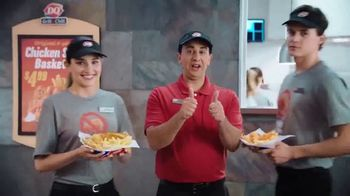 Dairy Queen Chicken Strip Basket TV Spot, 'Nugget-Free Zone' - Thumbnail 8