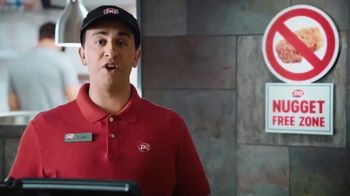 Dairy Queen Chicken Strip Basket TV Spot, 'Nugget-Free Zone' - 6456 commercial airings