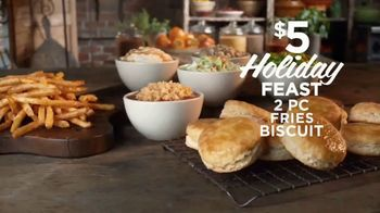 Popeyes $5 Holiday Feast TV Spot, 'Treat Yourself' - Thumbnail 5