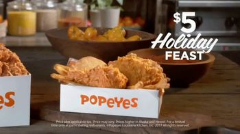 Popeyes $5 Holiday Feast TV Spot, 'Treat Yourself' - Thumbnail 8