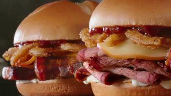 Arby's Smokehouse Sandwiches TV Spot, 'What We Make' - Thumbnail 8