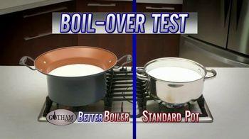 Gotham Steel Better Boiler TV Spot, 'No More Boil-Overs'