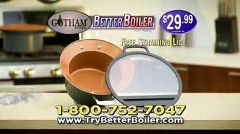 Gotham Steel Better Boiler TV Spot, 'No More Boil-Overs' - Thumbnail 7