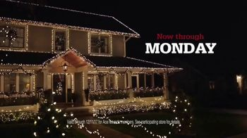 ACE Hardware Biggest Holiday Light Sale TV Spot, 'Huge Holiday Savings' - Thumbnail 5
