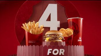 Wendy's 4 for $4 TV Spot, 'El regreso de la Double Stack' [Spanish] - Thumbnail 10