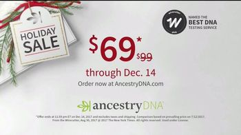 AncestryDNA Holiday Sale TV Spot, 'Happy Holidays from AncestryDNA' - Thumbnail 7