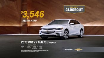 2017 Chevy Closeout TV Spot, 'No Words' [T2] - Thumbnail 9
