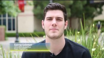 Pac-12 Conference TV Spot, \'PAC Profiles: Gyorgy Goloman\'