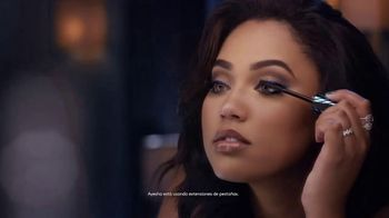 CoverGirl Peacock Flare Mascara TV Spot, 'Foco' con Ayesha Curry [Spanish] - 801 commercial airings