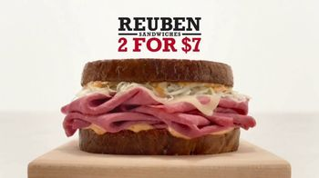 Arby's Reuben Sandwiches TV Spot, 'What's Better?'