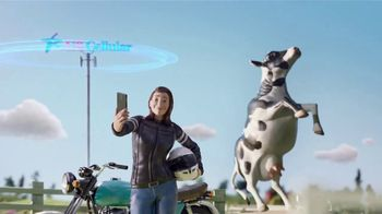U.S. Cellular Unlimited Data TV Spot, 'Middle of Anywhere Tour: Cows'