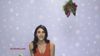 Mrs. Fields Peace, Love & Cookies Tin TV Spot, 'Mistletoe'