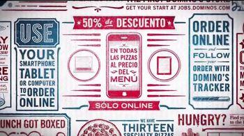 Domino's TV Spot, 'Solo en línea' [Spanish] - Thumbnail 2