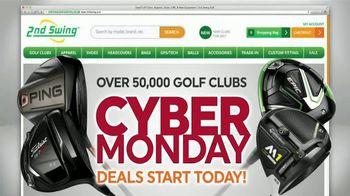 2nd Swing Cyber Monday Deals TV Spot, 'Over 50,000 Golf Clubs' - Thumbnail 1