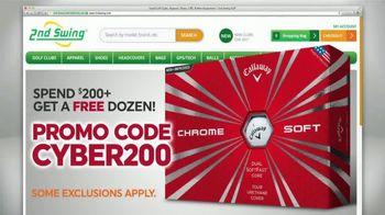 2nd Swing Cyber Monday Deals TV Spot, 'Over 50,000 Golf Clubs' - Thumbnail 2
