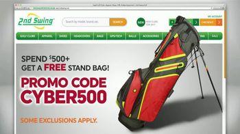 2nd Swing Cyber Monday Deals TV Spot, 'Over 50,000 Golf Clubs' - Thumbnail 3
