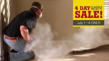 Lumber Liquidators 4 Day Summer Projects Sale TV Spot, 'Simple Projects' - Thumbnail 3