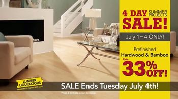 Lumber Liquidators 4 Day Summer Projects Sale TV Spot, 'Simple Projects' - Thumbnail 4