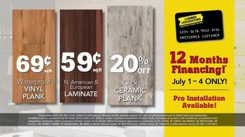 Lumber Liquidators 4 Day Summer Projects Sale TV Spot, 'Simple Projects' - Thumbnail 7