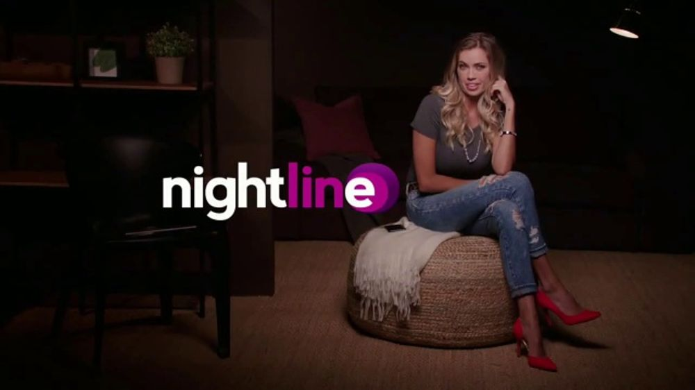 Girl from the nightline personals comercial