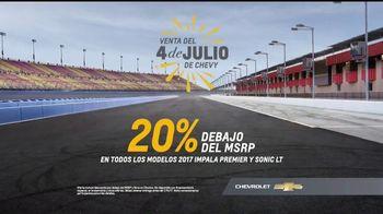 Chevrolet Venta del 4 de Julio TV Spot, 'Disfruta el viaje' [Spanish] [T2] - Thumbnail 8