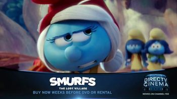 DIRECTV Cinema TV Spot, 'Smurfs: The Lost Village'