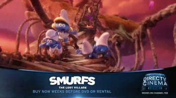 DIRECTV Cinema TV Spot, 'Smurfs: The Lost Village' - Thumbnail 4