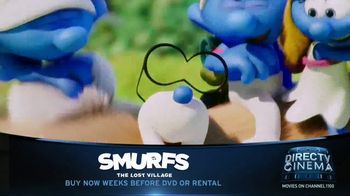 DIRECTV Cinema TV Spot, 'Smurfs: The Lost Village' - Thumbnail 6
