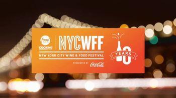 2017 New York City Wine & Food Festival TV Spot, 'Tickets' - Thumbnail 4