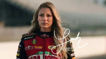 Papa John's Double XL TV Spot, 'NHRA: Dream Big' Featuring Leah Pritchett