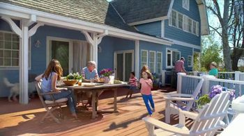 BEHR DeckOver TV Spot, 'Below Average Deck: Red, White and Blue Savings' - Thumbnail 6