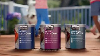 BEHR DeckOver TV Spot, 'Below Average Deck: Red, White and Blue Savings' - Thumbnail 7