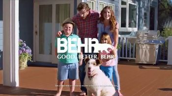 BEHR DeckOver TV Spot, 'Below Average Deck: Red, White and Blue Savings' - Thumbnail 8