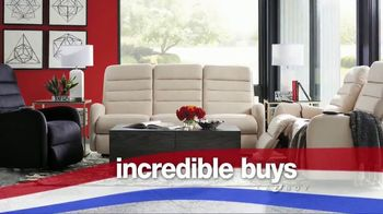 La-Z-Boy Red, White & Blue Sale TV Spot, 'Great American Comfort and Value' - Thumbnail 4