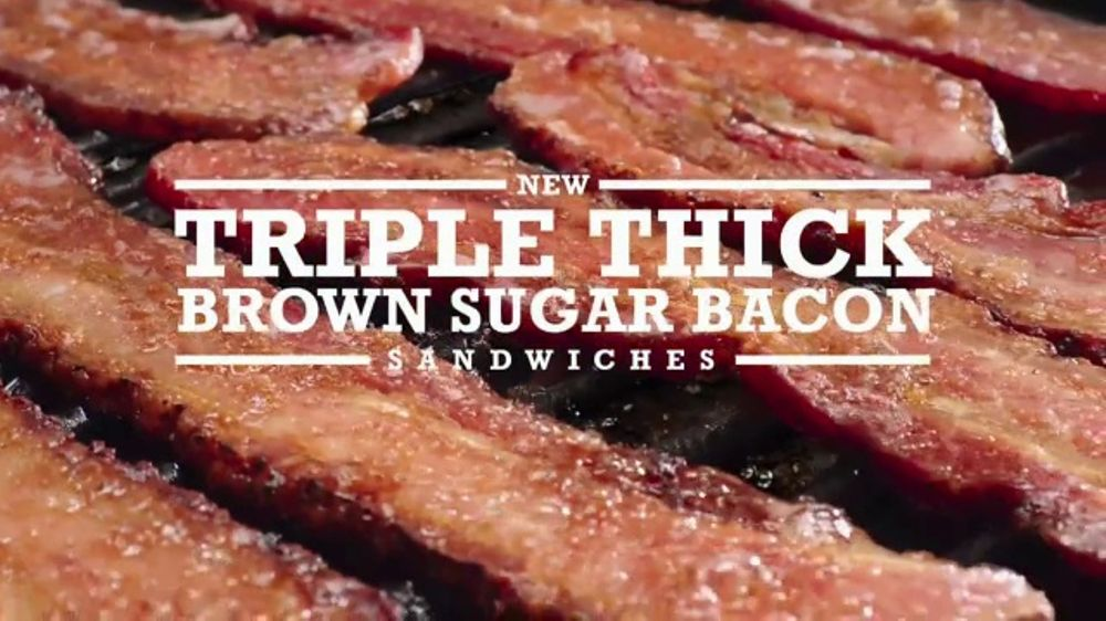 Arby's Triple Thick Brown Sugar Bacon Sandwiches TV Commercial, 'Better'
