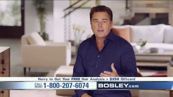 Bosley TV Spot, \'Tired of Losing Hair\' Featuring Christopher Knight