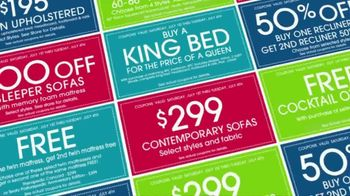 Rooms to Go Coupons TV Spot, 'Incredibly Low Payments' - Thumbnail 1