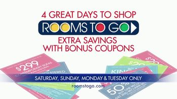 Rooms to Go Coupons TV Spot, 'Incredibly Low Payments' - Thumbnail 10