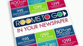 Rooms to Go Coupons TV Spot, 'Incredibly Low Payments' - Thumbnail 2