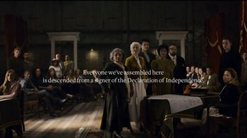 Ancestry TV Spot, \'Declaration Descendants: July 4th\'