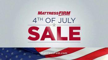Mattress Firm 4th of July Sale TV Spot, 'Free Adjustable Base' - Thumbnail 1