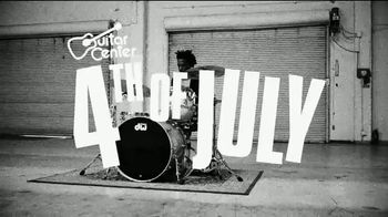 Guitar Center 4th of July Savings Event TV Spot, 'Electric Guitar & String' - Thumbnail 1