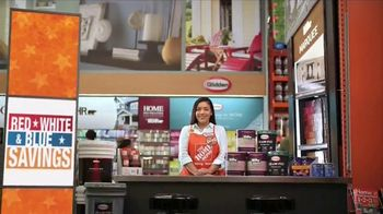 The Home Depot Red, White & Blue Savings TV Spot, 'Paint Projects' - 737 commercial airings