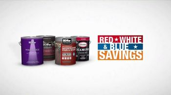 The Home Depot Red, White & Blue Savings TV Spot, 'Paint Projects' - Thumbnail 6