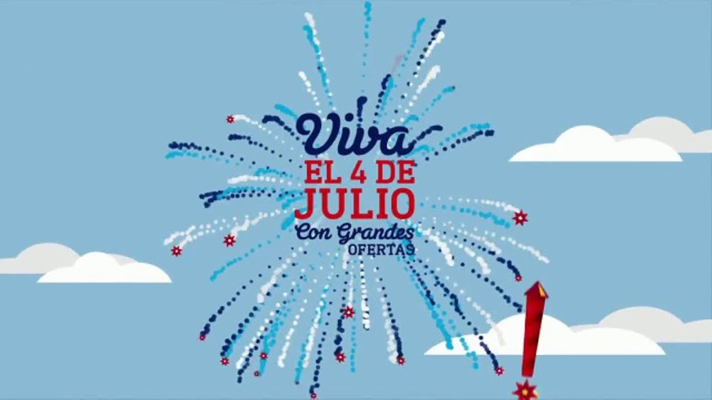 Lowe's Viva el 4 de Julio TV Commercial, 'Electrodom??sticos y Roundup'
